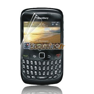 Protecteur d 39 ecran blackberry curve 8520 protection film for Housse blackberry curve