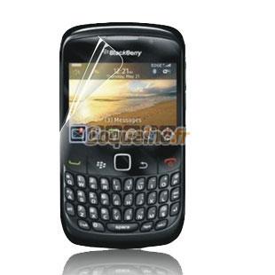 Protecteur d 39 ecran blackberry curve 8520 protection film for Housse blackberry curve
