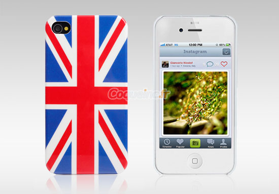coque apple iphone 4s le drapeau du royaume uni mixtes. Black Bedroom Furniture Sets. Home Design Ideas