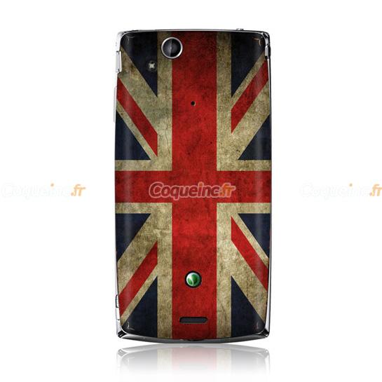 coque sony ericsson xperia arc s lt18i le drapeau du royaume uni mixtes. Black Bedroom Furniture Sets. Home Design Ideas
