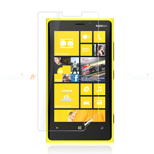 Protecteur d 39 ecran nokia lumia 920 protection film claire for Photo ecran lumia 920