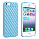 Coque Apple iPhone 5 Silicone Vague - Bleue Ciel