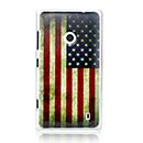 Coque Nokia Lumia 520 Le drapeau des Etats-Unis - Mixtes