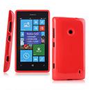 Coque Nokia Lumia 520 Silicone - Rouge