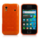 Coque Samsung Galaxy Ace S5830 Cercle TPU - Orange