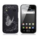 Coque Samsung Galaxy Ace S5830 Papillon - Noire