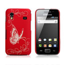 Coque Samsung Galaxy Ace S5830 Papillon - Rouge