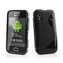 Coque Samsung Galaxy Ace S5830 Silicone S-Line - Noire