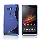 Coque Sony Xperia SP M35H Silicone S-Line - Bleue Ciel