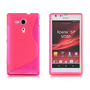 Coque Sony Xperia SP M35H Silicone S-Line - Rose Chaud
