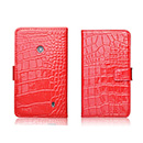 Etui en Cuir Nokia Lumia 520 Crocodile - Rouge