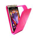 Etui en Cuir Sony Ericsson Xperia Arc LT15i X12 - Rose Chaud