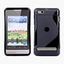 Etui en Silicone Motorola MotoSmart XT389 XT390 Gel S-Line - Noire