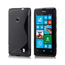 Etui en Silicone Nokia Lumia 520 Gel S-Line - Noire