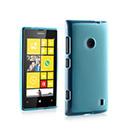 Etui en Silicone Nokia Lumia 520 Gel Transparent - Bleu
