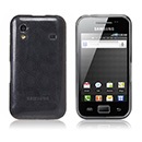 Etui en Silicone Samsung Galaxy Ace S5830 Cercle - Gris
