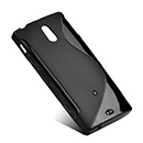Etui en Silicone Sony Xperia P LT22i Gel S-Line - Noire