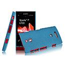 Etui Sony Xperia P LT22i Sables Mouvants - Bleue Ciel