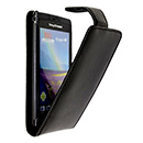 Housse Etui en Cuir Sony Ericsson Xperia Arc LT15i X12 - Noire