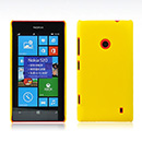 Housse Rigide Nokia Lumia 520 Poli - Jaune