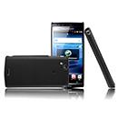 Housse Rigide Sony Ericsson Xperia Arc LT15i X12 Poli - Noire