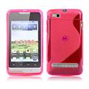 Housse Silicone Motorola MotoSmart XT389 XT390 Gel S-Line - Rose Chaud