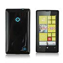 Housse Silicone Nokia Lumia 520 Gel - Noire