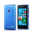Housse Silicone Nokia Lumia 520 Gel S-Line - Bleu