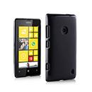 Housse Silicone Nokia Lumia 520 Gel Transparent - Noire