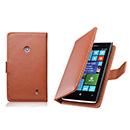 Pochette en Cuir Nokia Lumia 520 - Brown
